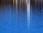 Water Surface Like A Mirror