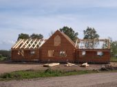 New Wooden Home Construction