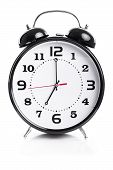 Time For Work - Alarm Clock Shows Seven O`clock