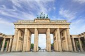 Brandenburg gate of Berlin Germany