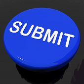 Submit Button Shows Submitting Submission Or Application