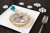 Christmas White Chocolate Tarts