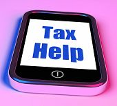 Tax Help On Phone Shows Taxation Advice Online