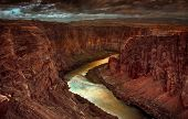 Beautiful Image of the beginning of the grand canyon at Lake Powell
