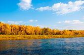 Autumn River Ural