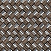Metallic Rings Pattern
