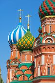 Saint Basil's Cathedral (Pokrovsky Cathedral). Russia, Moscow