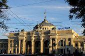 Odessa rail station