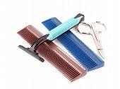 Razor, Scissors And Combs