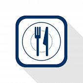 Cutlery Flat Icon