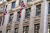 Union Jack or The United Kingdom flag