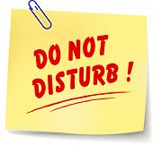 Do Not Disturb Message