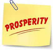 No Prosperity Message