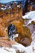Natural Bridge At Bryce Canyon