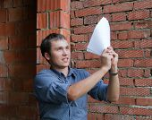 Happy Builder With Documents
