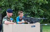 Child With Machine Gun