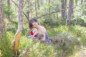 Breastfeeding In The Forest
