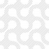 Simple Geometric Vector Pattern - Diagonal Lines On White Background