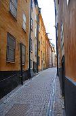 Colourful Narrow Lane