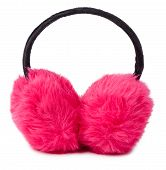 Pink Winter Earmuff