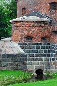 Defensive Tower Dohna. Kaliningrad (formerly Koenigsberg), Russia
