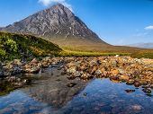 Reflections Of Buachaille Etive Mor