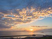Sunset beach of Okinawa