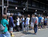 Sushi shop Takayama Japan