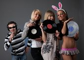 Male Dj And Beautiful Girls