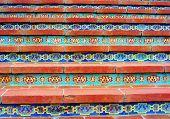 Mosaic Tile Steps