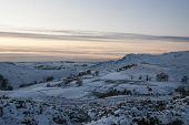 Snow On Moorlands