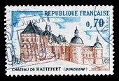 Hautefort castle 1969