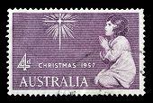 Christmas stamp Australia 1957