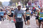 Large Crowd Of Runners At Comrades Ultra Marathon
