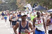 Runners And Spectators Participate In Comrades Marathon