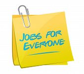 Jobs For Everyone Illustration Design