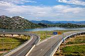 The Road Bridges And Railroad