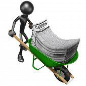 Wheelbarrow Full Of Employment Classifieds