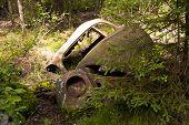 Car Dump In Kirkoe Mosse