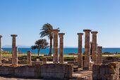 Roman Ruins On Spanish Coast
