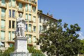 The Statue Of King Charles Felix In Nice