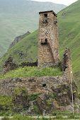 Castle Ruin, Georgian Military Road, Georgia