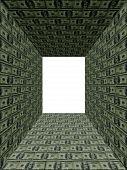 Inside Of Money Wall