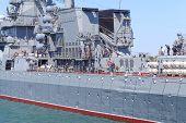 Russian Navy Black Sea Fleet prepares for a Victory Day parade