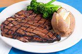 pic of t-bone steak  - a delicious t - JPG