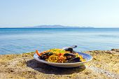 Tasty Seafood By The Sea