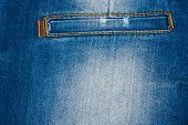 Beautiful Women's Jeans With A Pocket