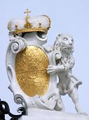 Detail At The Main Gate To The Upper Belvedere Palace Vienna