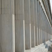 Colonnade in stoa of Attalos
