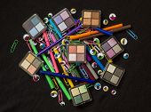 Make up Products,Pens and Eyes